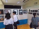 写真部の展示コーナー