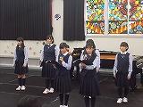 合唱部の発表会